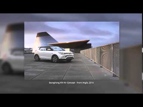 SsangYong XIV-Air Concept 2014 On International Motor Shows