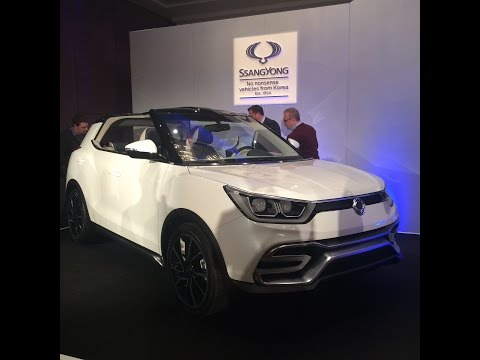 SSANGYONG MAHINDRA XIV TIVOLI 2015 | UK LAUNCH!
