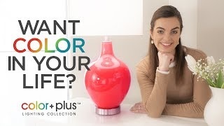 Color Plus - Custom Made Designer Color Lamps, Lighting and More from Lamps Plus