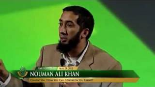 The Toughest Audience…FUNNY Br. Nouman Ali Khan…
