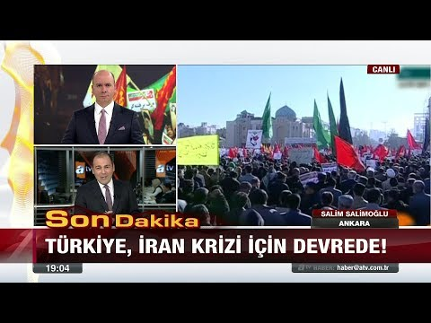 Türkiye, İran Krizi için devrede! - 2 Ocak 2018