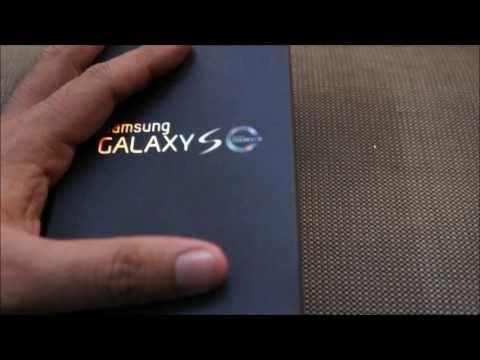Unboxing Samsung Galaxy SL (i9003)