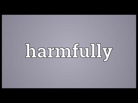 Header of harmfully