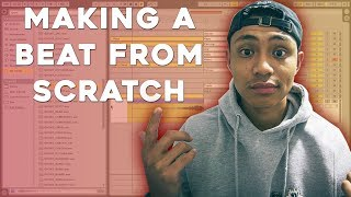 Making A HIP-HOP beat from SCRATCH | (Using...)