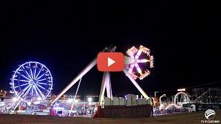 Parque de diversões leva alegria aos itabaianenses