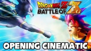 Dragon Ball Z: Battle of Gods - Dragon Ball Z Battle of Z - Opening Cinematic [1440p] TRUE-HD QUALITY