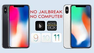 Watch Movies & TV Shows FREE iOS 11 / 10 / 9 NO Jailbreak NO PC iPhone X iPad iPod