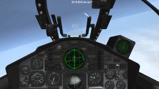 Strike Fighters 2 - F-4N Phantom II Fleet Defense Intercept (More capture tests)