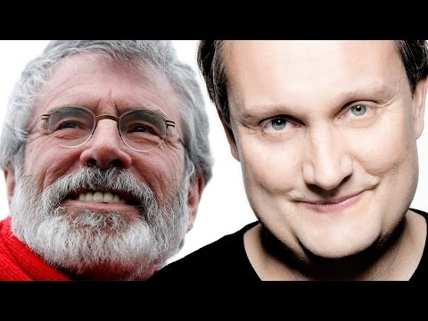 Mario does Gerry Adams | Mario Rosenstock at the UCD Law Society (2015)