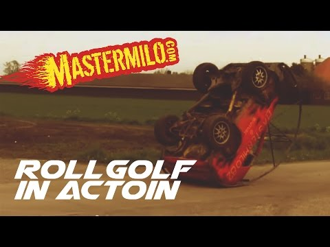 Sas VW RollGolf in action