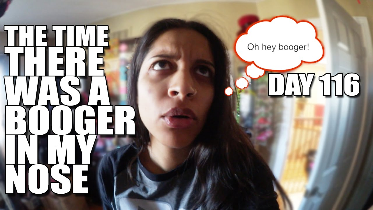 "NEW VLOG IS UP! The Time There Was A Booger in My Nose! If you like my vlogs - click that subscribe button!  <a href=""https://www.youtube.com/watch?v=lsOtYfpYKk0"" class=""linkify"" target=""_blank"">https://www.youtube.com/watch?v=lsOtYfpYKk0</a>"