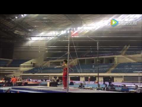 Prepare for Chinese National Gymnastics Chamption and 2016 Olympic Selection Test