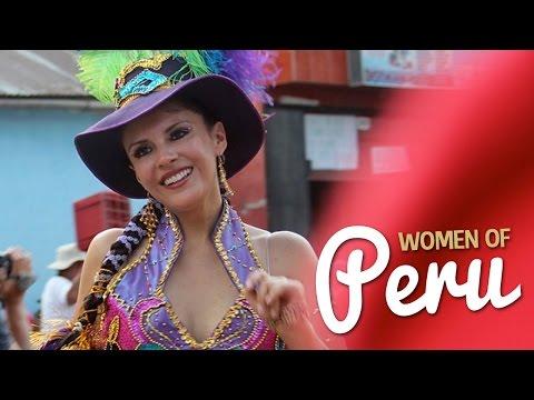 More Peruvian women photos: http://bicycletouringpro.com/blog/beautiful-women-from-peru/ This short video features the photos of hundreds of women from Peru - from young to old. These photos...