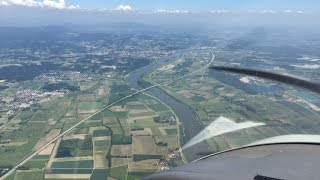 VFR flights EDKW EDQC EDMV LKKV EDAY EDVK - Dimona HK36