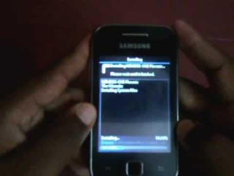 Installing Nemesis One Phoenix in Samsung Galaxy Y.