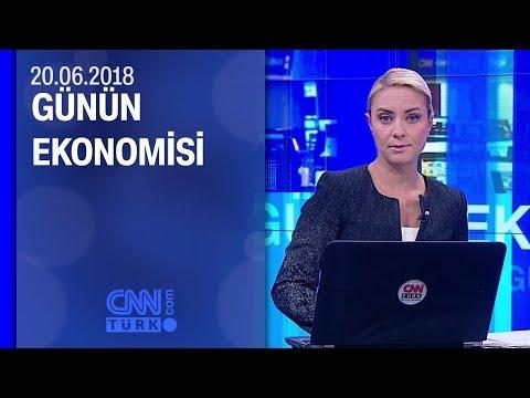 Günün Ekonomisi 20.06.2018 Çarşamba