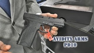Avidity Arms PD10 w/ Rob Pincus at SHOT Show 2017