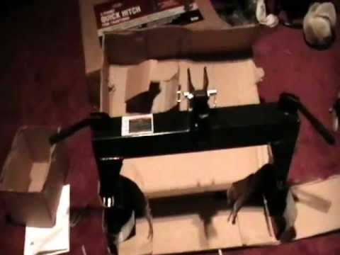 Harbor Freight Quick Hitch Item# 97214 (part I unboxing)