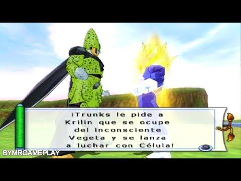 Dragon Ball Z: Budokai Tenkaichi 2 Latino Saga androide Trunks vs Cell Perfecto # 7