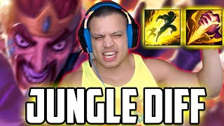 JUNGLE DIFFERENCE | TRYING NEW DRAVEN BUFF