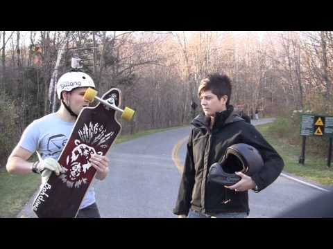 The Gritty Truth covers Longboarding at the Gatineau downhill race