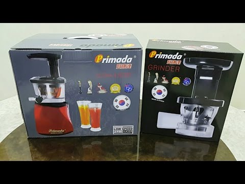 Primada Slow Juicer Accessories : Primada Slow Juicer vs Hurom Slow Juicer :: videoLike