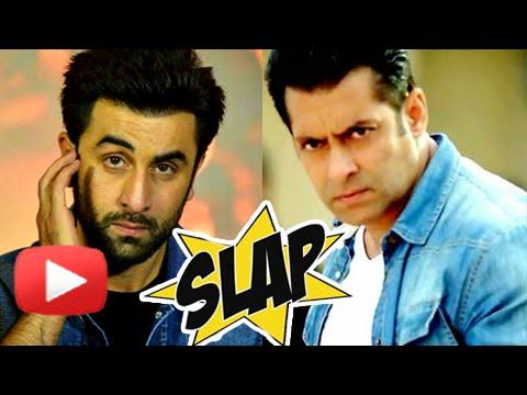 OMG! Salman Khan Slapped Ranbir Kapoor