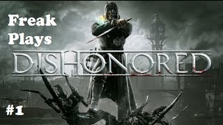 Dishonored Gameplay Walkthrough Part 1 - Fail Sneak Attack