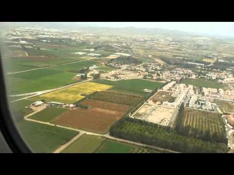 Landing in Cyprus (Pafos) with Ryanair