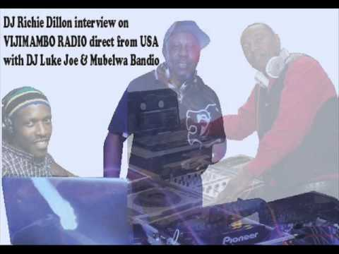 DJ Richie Dillon Radio Interview with Vijimambo DC Washington