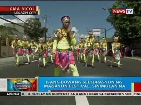 Isang buwang selebrasyon ng Magayon Festival sa Legazpi City, sinimulan na