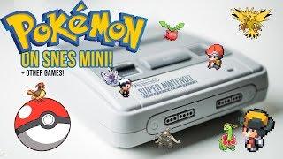 POKEMON on the SNES CLASSIC MINI! Add GBA, GBC and NES games to the SNES CLASSIC MINI!