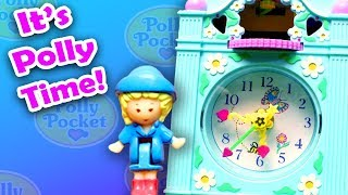 A Polly Pocket With A Clock In It? - 1991 Polly Pocket Funtime Clock Playset