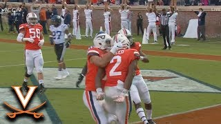 Virginia's Joe Reed Houses A 95-YD Kickoff Return