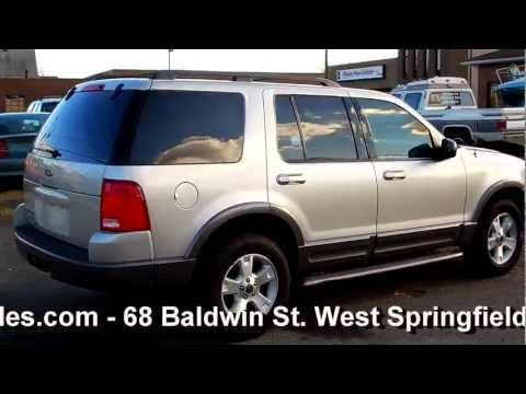 2003 Ford Explorer XLT 4WD 4.0L V6 - XLT Sport Appearance Pkge - Leather/Moonroof -
