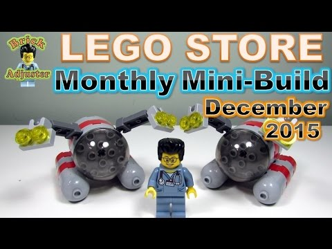 Lego Monthly Mini-Build - December 2015 (Submarine)