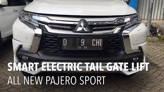 Smart Electric Tail Gate Lift All New Pajero Sport