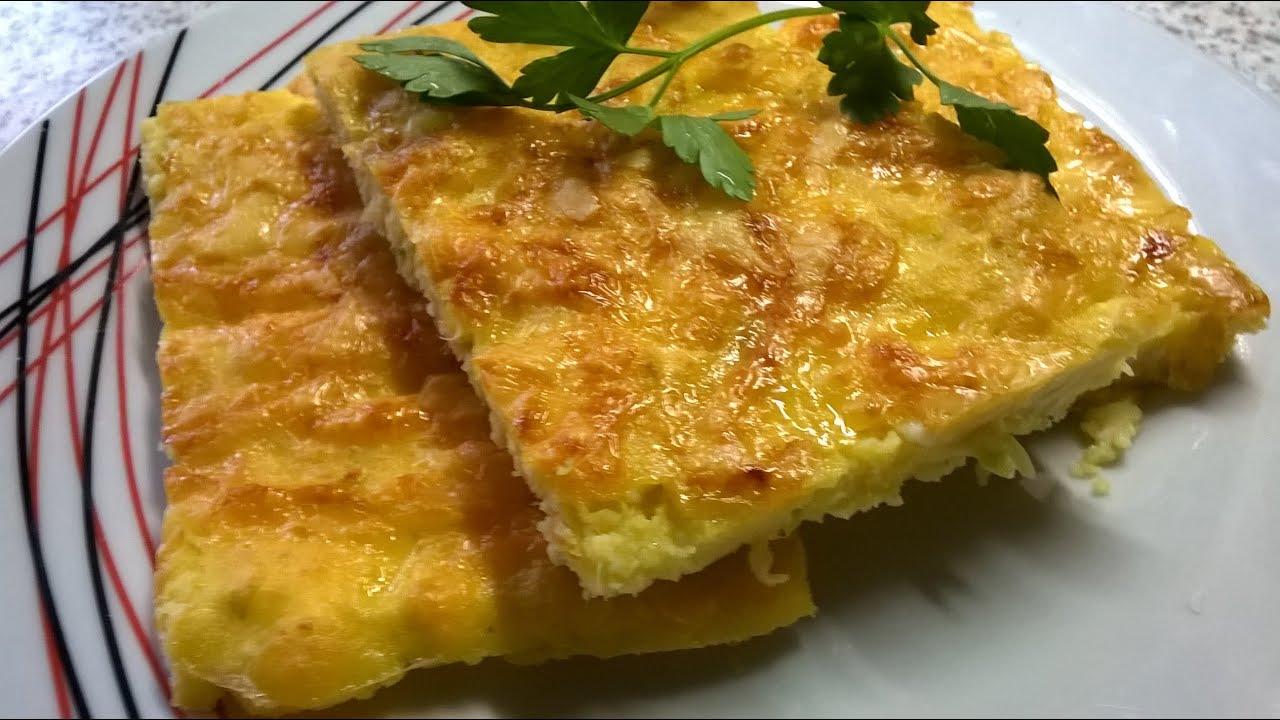Пирог из кабачков в духовке рецепты