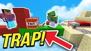 THE NEW MINECRAFT VIRAL TROLL... ( Minecraft BED WARS )