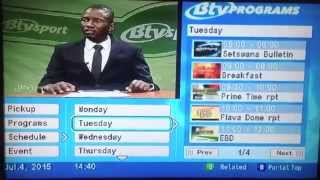 Digital Botswana Television (BTV) Channel Interface