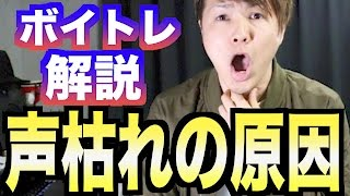 【カラオケ上達】声が枯れやすい人の原因【IKKI式ボイトレ】#15 ボイストレーニング