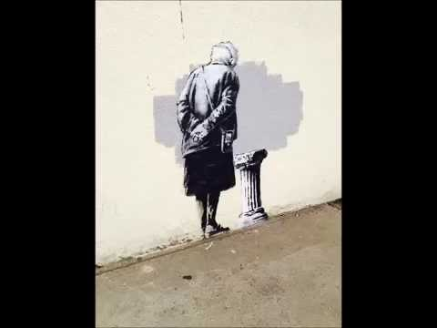 Interview with Alastair Upton about the return of  the Banksy artwork 'Art Buff' to Folkestone