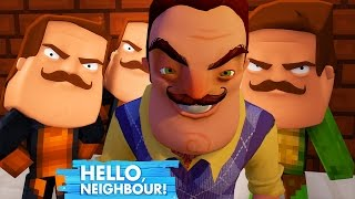 Minecraft Hello Neighbour - MORPHING INTO THE NEIGHBOUR!