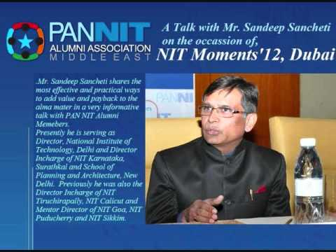 A Talk With Dr. Sandeep Sancheti on Alumni Initiatives