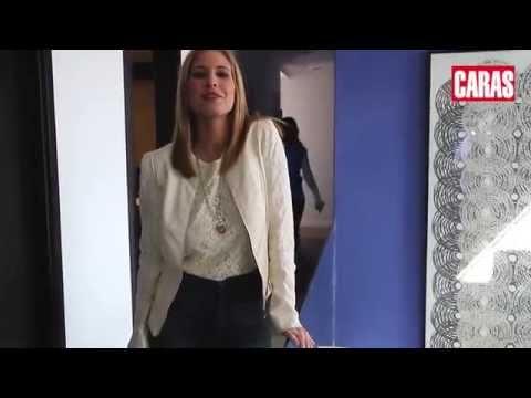 Natalie Yoffe visitó las nuevas oficinas de CARAS URUGUAY