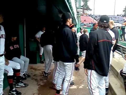 Inside the San Jose Giants' Dugout on Weather Day With NBC Bay Area Meteorologist Christina Loren