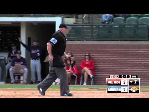 AUHD Baseball Game Recap: Ole Miss Game 3