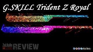 ทดสอบพลัง G.SKILL Trident Z Royal จะแรง ลากไกลมั๊ย ต้องลอง !!! : ZoLKoRn on Live #264