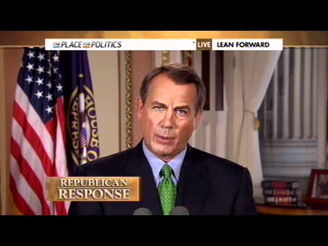Boehner Address to the Nation on GOP Plan to Address Debt Crisis