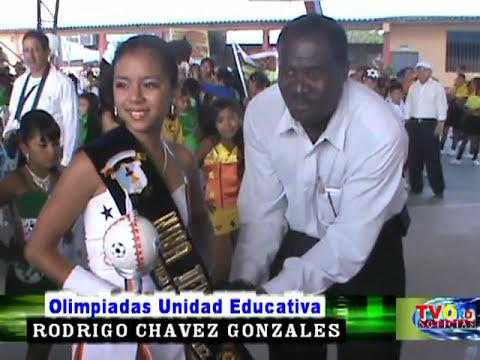 19 AGOSTO OLIMPIADAS DENOMINADAS GABRIELA MACAS EN ESC  RODRIGO CHAVEZ